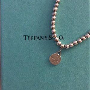 Authentic Tiffany beaded bracelet. Price firm!
